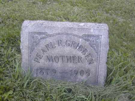 GRIBBEN, PEARL R. - Columbiana County, Ohio | PEARL R. GRIBBEN - Ohio Gravestone Photos