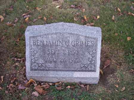 GRIMES, BENJAMIN C. - Columbiana County, Ohio | BENJAMIN C. GRIMES - Ohio Gravestone Photos