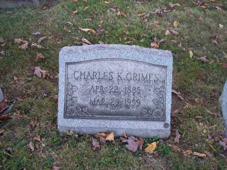 GRIMES, CHARLES K. - Columbiana County, Ohio | CHARLES K. GRIMES - Ohio Gravestone Photos