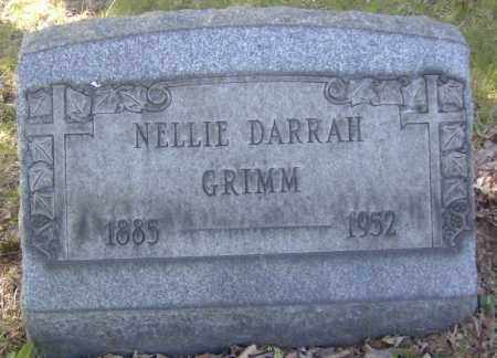 GRIMM, NELLIE DARRAH - Columbiana County, Ohio | NELLIE DARRAH GRIMM - Ohio Gravestone Photos