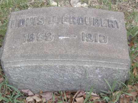 GROUBERT, LOUIS J. - Columbiana County, Ohio | LOUIS J. GROUBERT - Ohio Gravestone Photos