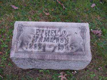 HAMILTON, ETHEL O. - Columbiana County, Ohio | ETHEL O. HAMILTON - Ohio Gravestone Photos