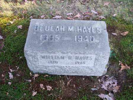 HAYES, WILLIAM H. - Columbiana County, Ohio | WILLIAM H. HAYES - Ohio Gravestone Photos