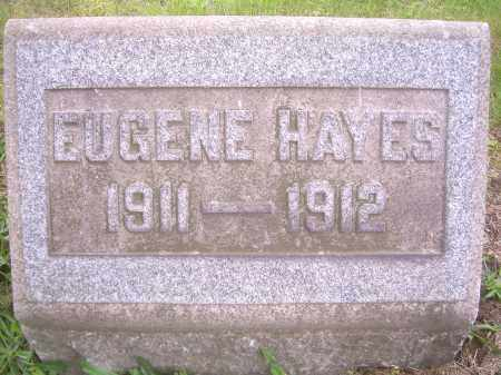 HAYES, EUGENE E - Columbiana County, Ohio | EUGENE E HAYES - Ohio Gravestone Photos