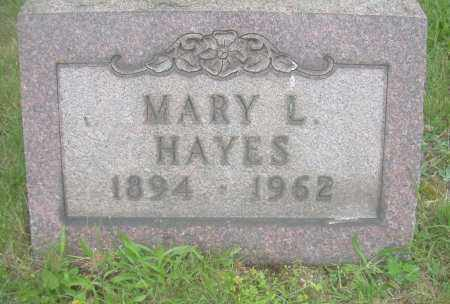 HAYES, MARY L - Columbiana County, Ohio | MARY L HAYES - Ohio Gravestone Photos