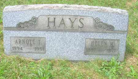THOMPSON HAYS, HELEN M - Columbiana County, Ohio | HELEN M THOMPSON HAYS - Ohio Gravestone Photos
