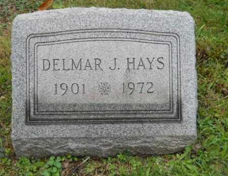 HAYS, DELMAR J - Columbiana County, Ohio | DELMAR J HAYS - Ohio Gravestone Photos