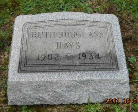 DOUGLASS HAYS, RUTH - Columbiana County, Ohio | RUTH DOUGLASS HAYS - Ohio Gravestone Photos