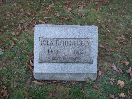 HECKOREY, IOLA G. - Columbiana County, Ohio | IOLA G. HECKOREY - Ohio Gravestone Photos