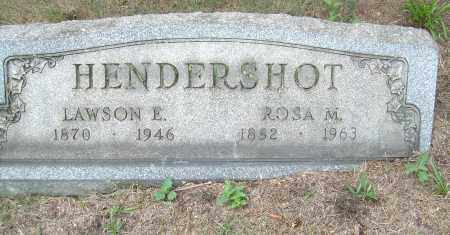 HENDERSHOT, LAWSON E - Columbiana County, Ohio | LAWSON E HENDERSHOT - Ohio Gravestone Photos