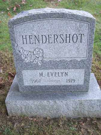 HENDERSHOT, M. EVELYN - Columbiana County, Ohio | M. EVELYN HENDERSHOT - Ohio Gravestone Photos