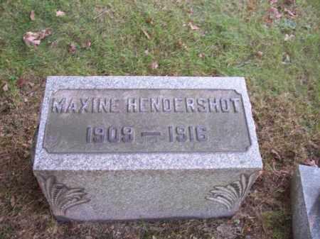 HENDERSHOT, MAXINE - Columbiana County, Ohio | MAXINE HENDERSHOT - Ohio Gravestone Photos