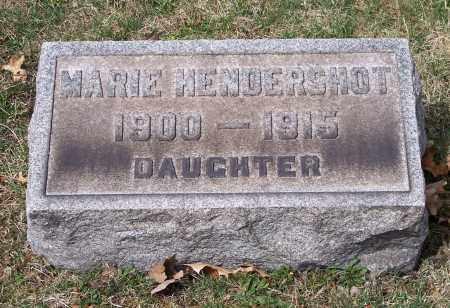 HENDERSHOT, MARIE - Columbiana County, Ohio | MARIE HENDERSHOT - Ohio Gravestone Photos