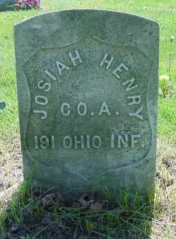 HENRY, JOSIAH - Columbiana County, Ohio   JOSIAH HENRY - Ohio Gravestone Photos