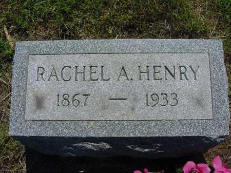 HENRY, RACHEL - Columbiana County, Ohio | RACHEL HENRY - Ohio Gravestone Photos
