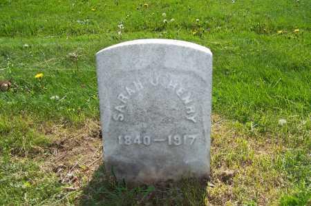HENRY, SARAH J. - Columbiana County, Ohio | SARAH J. HENRY - Ohio Gravestone Photos