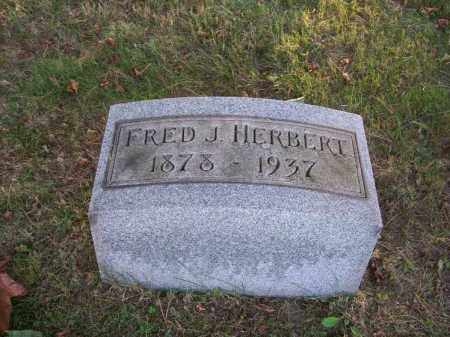HERBERT, FRED J. - Columbiana County, Ohio | FRED J. HERBERT - Ohio Gravestone Photos
