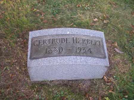 HERBERT, GERTRUDE - Columbiana County, Ohio | GERTRUDE HERBERT - Ohio Gravestone Photos
