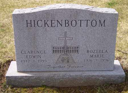 HICKENBOTTOM, CLARENCE EDWIN - Columbiana County, Ohio | CLARENCE EDWIN HICKENBOTTOM - Ohio Gravestone Photos