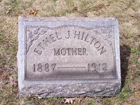HILTON, ETHEL J. - Columbiana County, Ohio | ETHEL J. HILTON - Ohio Gravestone Photos