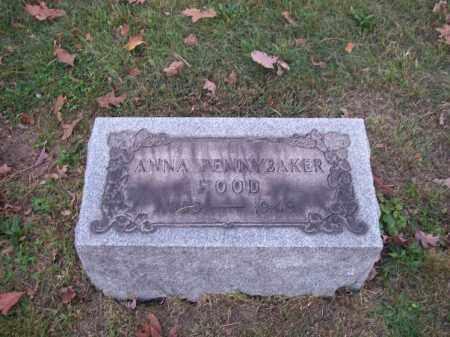PENNYBAKER HOOD, ANNA - Columbiana County, Ohio | ANNA PENNYBAKER HOOD - Ohio Gravestone Photos