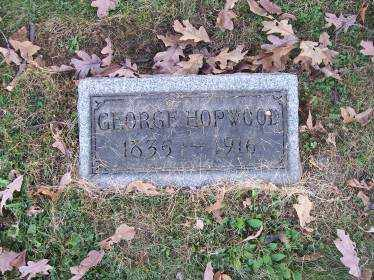 HOPWOOD, GEORGE - Columbiana County, Ohio | GEORGE HOPWOOD - Ohio Gravestone Photos