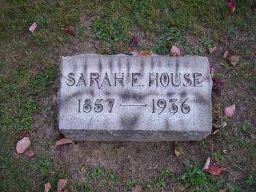 HOUSE, SARAH E. - Columbiana County, Ohio | SARAH E. HOUSE - Ohio Gravestone Photos
