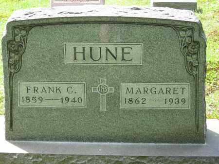 HUNE, FRANK C. - Columbiana County, Ohio | FRANK C. HUNE - Ohio Gravestone Photos