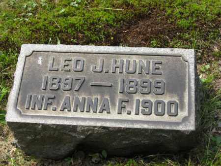 HUNE, ANNA F. - Columbiana County, Ohio | ANNA F. HUNE - Ohio Gravestone Photos