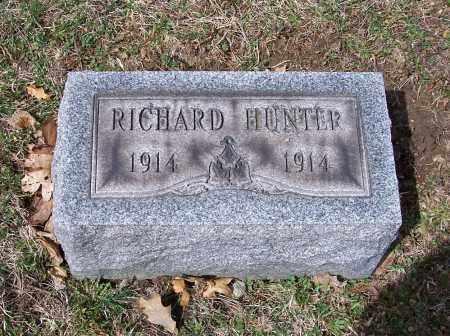 HUNTER, RICHARD - Columbiana County, Ohio | RICHARD HUNTER - Ohio Gravestone Photos