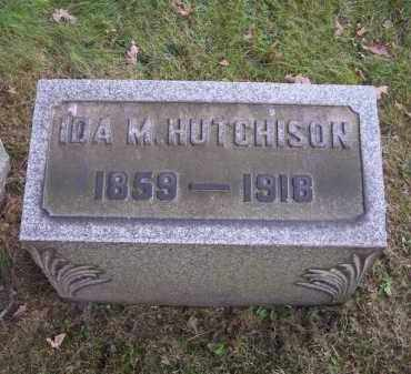 HUTCHISON, IDA M. - Columbiana County, Ohio | IDA M. HUTCHISON - Ohio Gravestone Photos