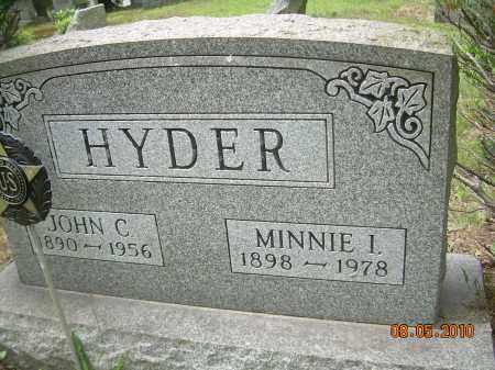 HYDER, JOHN C - Columbiana County, Ohio | JOHN C HYDER - Ohio Gravestone Photos
