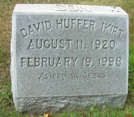 IKIRT, DAVID HUFFER - Columbiana County, Ohio | DAVID HUFFER IKIRT - Ohio Gravestone Photos