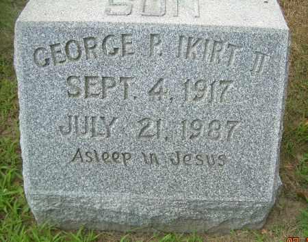 IKIRT, GEORGE P - Columbiana County, Ohio | GEORGE P IKIRT - Ohio Gravestone Photos