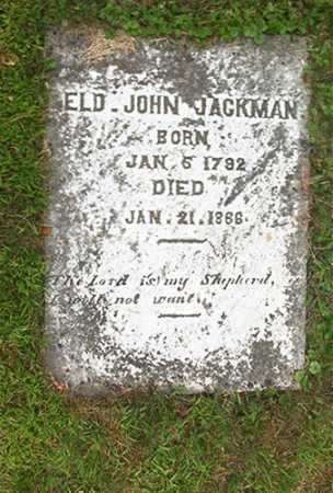 JACKMAN, JOHN - Columbiana County, Ohio | JOHN JACKMAN - Ohio Gravestone Photos