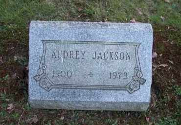 JACKSON, AUDREY - Columbiana County, Ohio | AUDREY JACKSON - Ohio Gravestone Photos