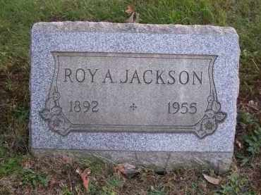 JACKSON, ROY A. - Columbiana County, Ohio | ROY A. JACKSON - Ohio Gravestone Photos