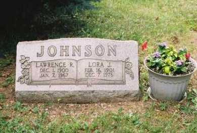JOHNSON, LORA J - Columbiana County, Ohio | LORA J JOHNSON - Ohio Gravestone Photos