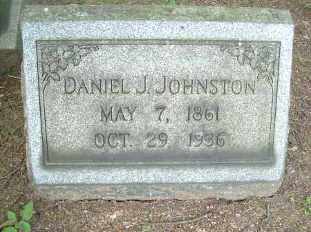 JOHNSTON, DANIEL J - Columbiana County, Ohio | DANIEL J JOHNSTON - Ohio Gravestone Photos