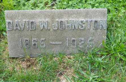 JOHNSTON, DAVID W - Columbiana County, Ohio | DAVID W JOHNSTON - Ohio Gravestone Photos