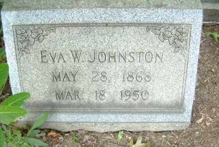 JOHNSTON, EVA - Columbiana County, Ohio | EVA JOHNSTON - Ohio Gravestone Photos