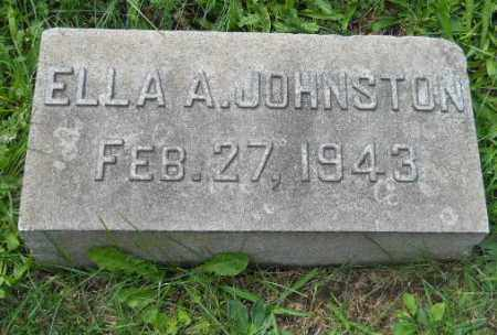 JOHNSTON, ELLA A - Columbiana County, Ohio | ELLA A JOHNSTON - Ohio Gravestone Photos