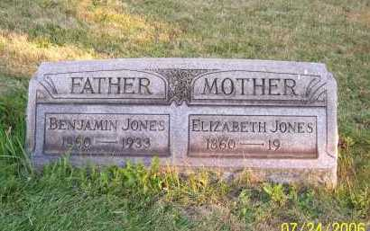 JONES, BENJAMIN - Columbiana County, Ohio | BENJAMIN JONES - Ohio Gravestone Photos