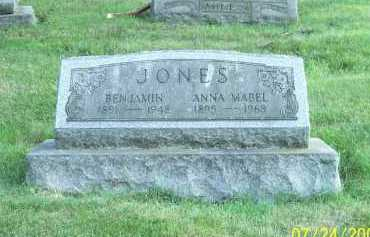 RIDDLE JONES, ANNA MABEL - Columbiana County, Ohio | ANNA MABEL RIDDLE JONES - Ohio Gravestone Photos
