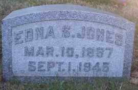 JONES, EDNA S. - Columbiana County, Ohio | EDNA S. JONES - Ohio Gravestone Photos