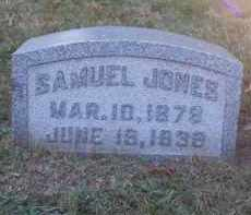 JONES, SAMUEL - Columbiana County, Ohio | SAMUEL JONES - Ohio Gravestone Photos