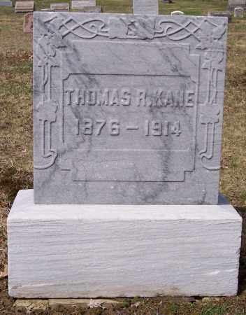 KANE, THOMAS R. - Columbiana County, Ohio | THOMAS R. KANE - Ohio Gravestone Photos