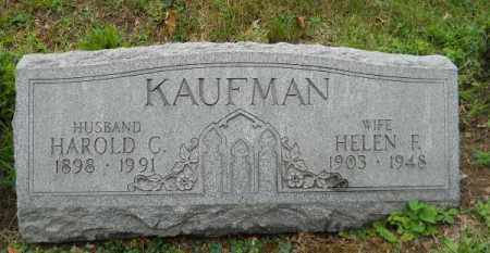 KAUFMAN, HELEN E - Columbiana County, Ohio | HELEN E KAUFMAN - Ohio Gravestone Photos