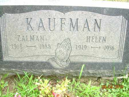 KAUFMAN, HELEN - Columbiana County, Ohio | HELEN KAUFMAN - Ohio Gravestone Photos