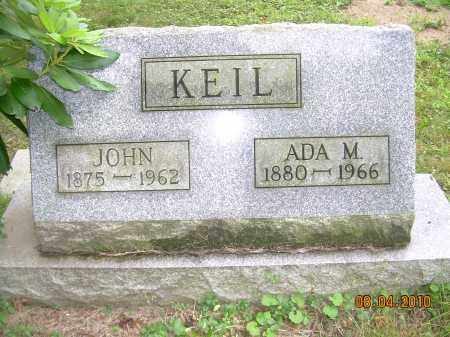 KEIL, ADA M - Columbiana County, Ohio | ADA M KEIL - Ohio Gravestone Photos